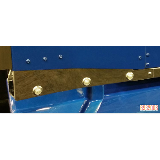 Kenworth T660 Sleeper Extension Panels With LED Bullet Lights