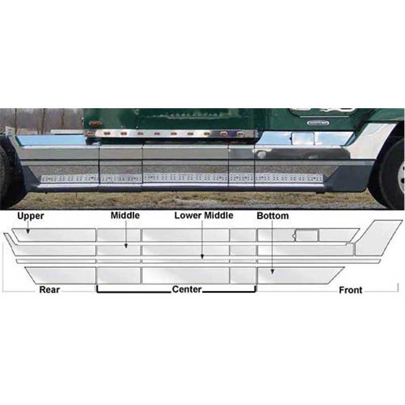 Freightliner Rear / Sleeper Trim Big Rig Chrome Shop - Semi