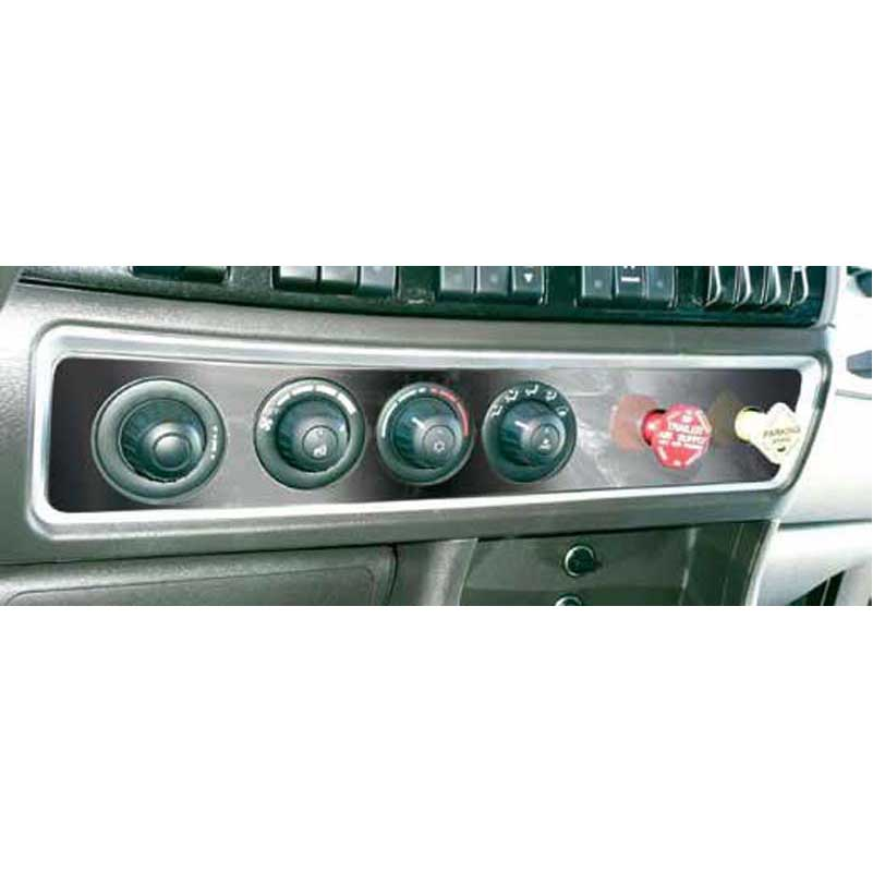 Kenworth A/C Control Plates Big Rig Chrome Shop - Semi Truck Chrome