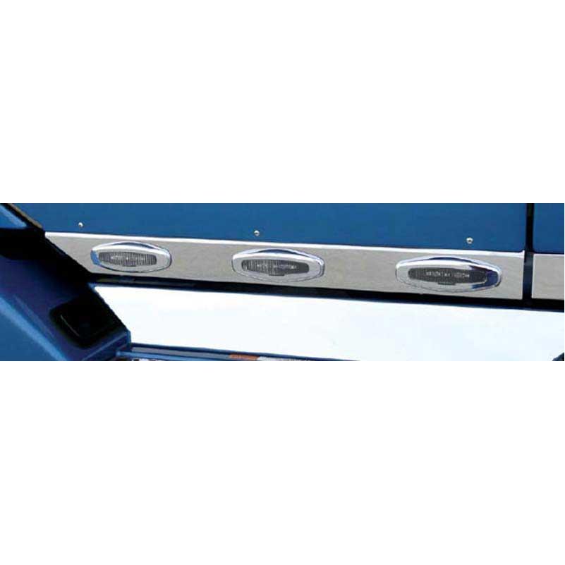 Driver side WITH install kit 6 inch LED 2012 Volvo VNL670 SLEEPER Side Roof mount spotlight -Black