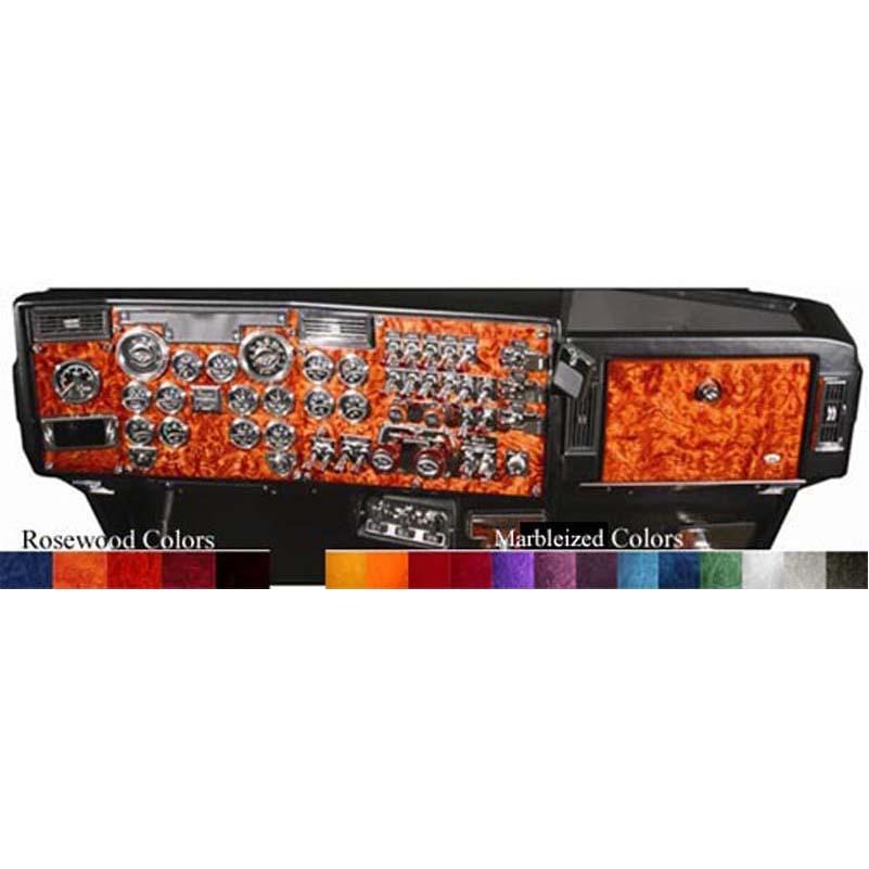 Peterbilt Dash Panels Big Rig Chrome Shop - Semi Truck