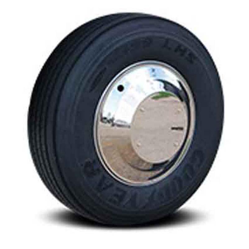Semi Chrome Wheel Covers : Aero wheel covers big rig chrome shop semi truck