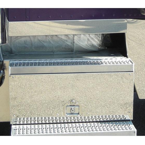 Peterbilt Tool & Battery Box Trim Big Rig Chrome Shop - Semi Truck