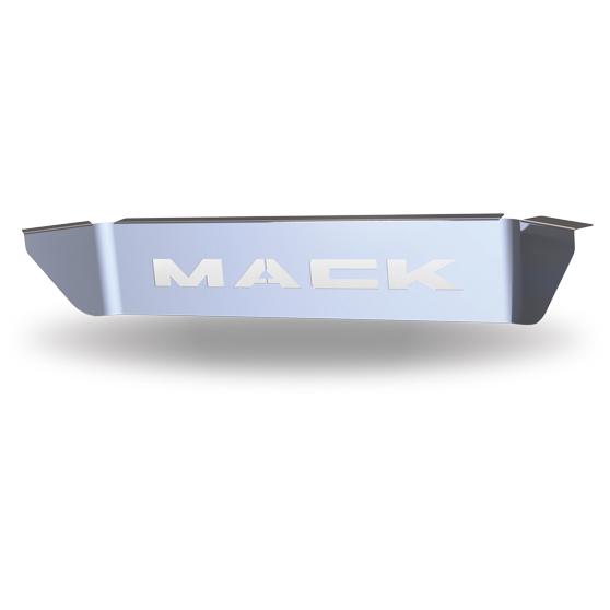 Rawhide Stainless Steel Upper Kick Plate w// Logo Granite Vision Mack Pinnacle