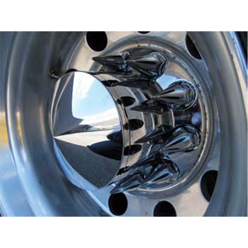 Chrome Plastic Axle Covers Big Rig Chrome Shop - Semi Truck