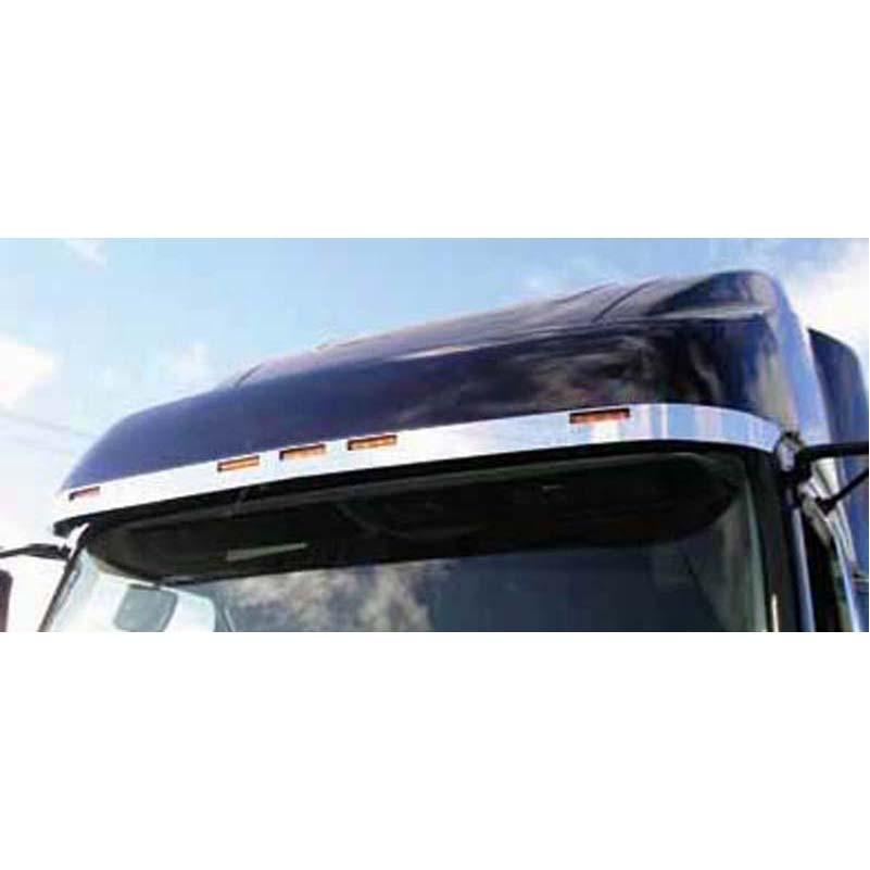 Volvo Visors Big Rig Chrome Shop Semi Truck Chrome Shop Truck Lighting And Chrome Accessories