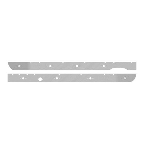 Mack Cab And Sleeper Panels Big Rig Chrome Shop - Semi Truck
