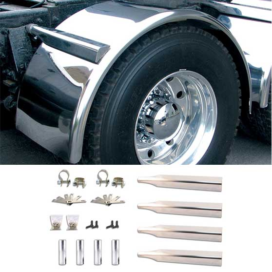 2006 Freightliner COLUMBIA DAYCAB//CONSOLE Side Roof mount spotlight Driver side WITH install kit LED 6 inch -Chrome