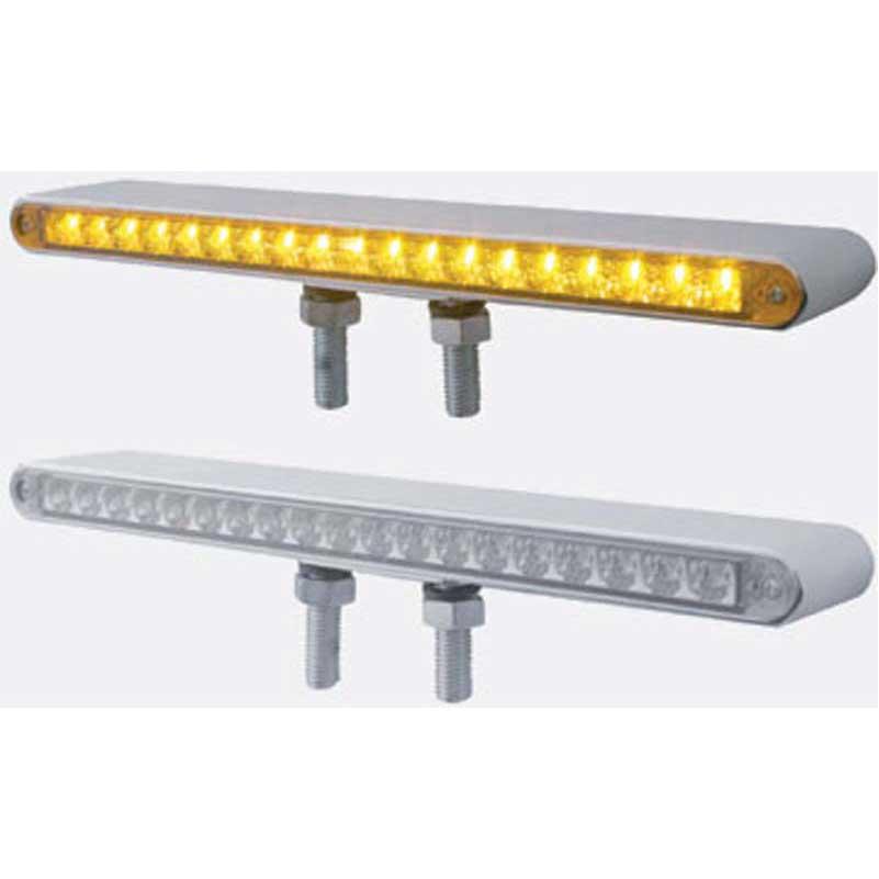 Crome strip light reflector