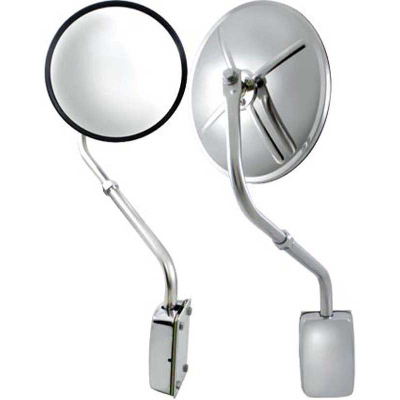 Up60037 Stainless Steel Hood Mount Mirror