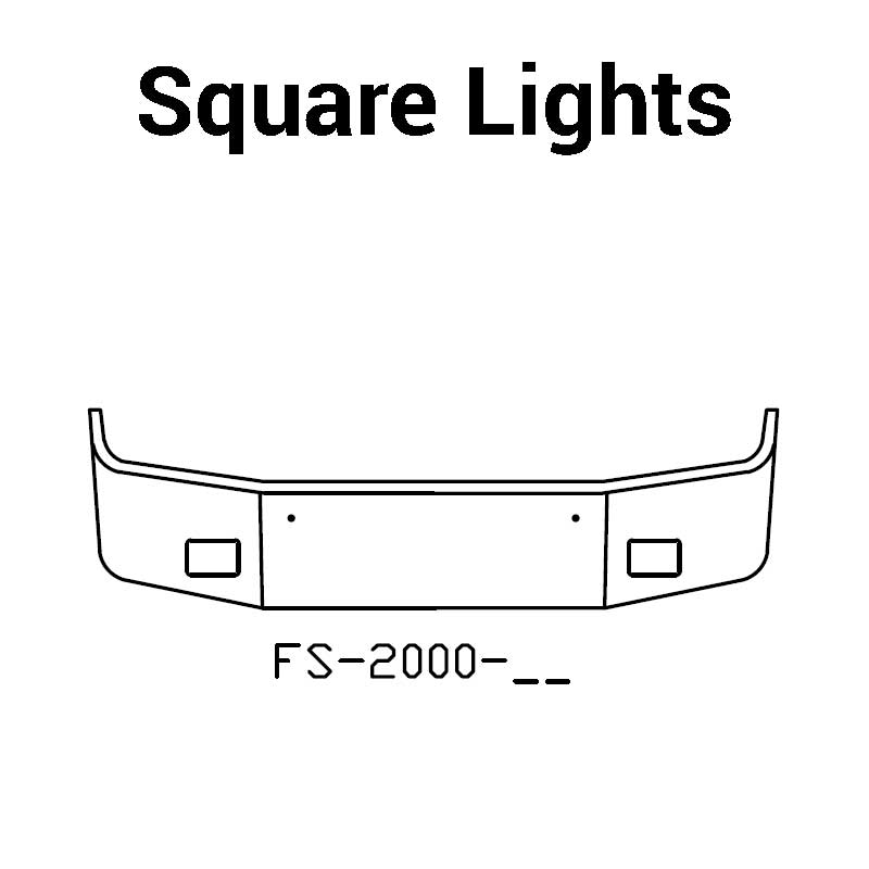 square lights $0 00